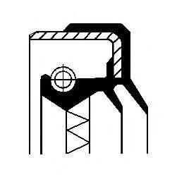 Уплотняющее кольцо, дифференциал; Уплотняющее кольцо, раздаточная коробка CORTECO 01034113B