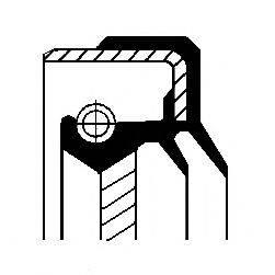 Уплотняющее кольцо, раздаточная коробка CORTECO 01034114B