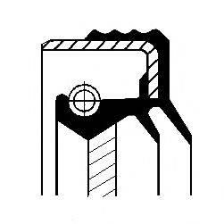 Уплотняющее кольцо, дифференциал CORTECO 01020413B