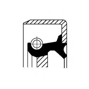 Уплотнительное кольцо CORTECO 01032720B