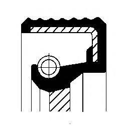 Уплотняющее кольцо вала, автоматическая коробка передач CORTECO 01031573B