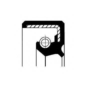 Уплотняющее кольцо, ступица колеса; Уплотнительное кольцо, сателлит рессоры CORTECO 01030092B