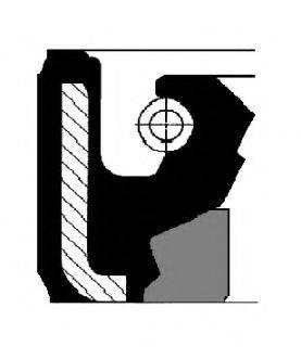 Уплотнительное кольцо CORTECO 01019952B