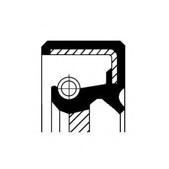 Уплотнительное кольцо вала, насос гидроусилителя CORTECO 01026490B