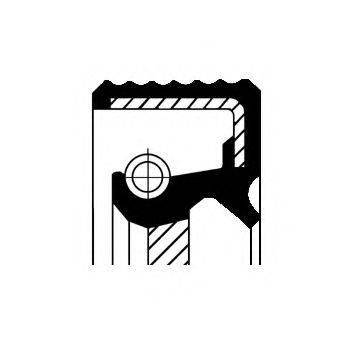 Уплотняющее кольцо, ступенчатая коробка передач CORTECO 01030457B