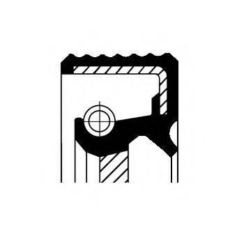 Уплотняющее кольцо, дифференциал CORTECO 01033477B