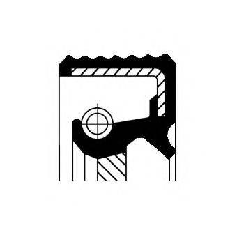 Уплотняющее кольцо, раздаточная коробка CORTECO 01035172B