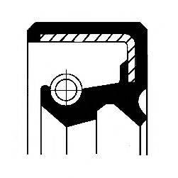 Уплотняющее кольцо вала, автоматическая коробка передач; Уплотняющее кольцо вала, привод спидометра CORTECO 01033982B