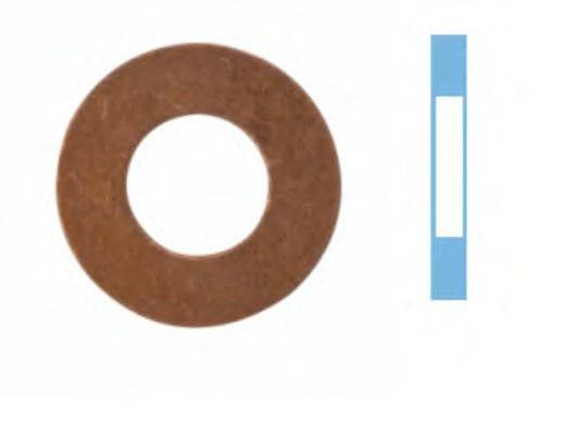 Уплотнительное кольцо, резьбовая пр CORTECO 005696H