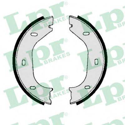 Комплект тормозных колодок, стояночная тормозная система LPR 00010
