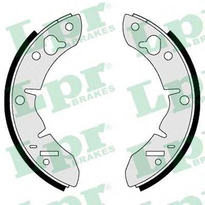 Комплект тормозных колодок LPR 00560