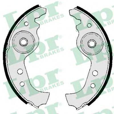 Комплект тормозных колодок LPR 00890