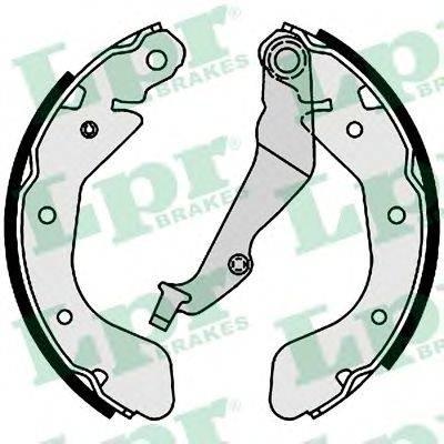 Комплект тормозных колодок LPR 01001