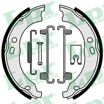 Комплект тормозных колодок, стояночная тормозная система LPR 01003