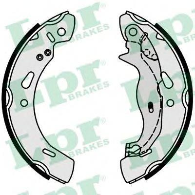 Комплект тормозных колодок LPR 01004