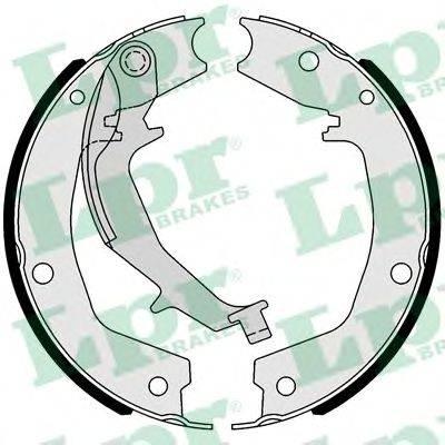 Комплект тормозных колодок, стояночная тормозная система LPR 01053