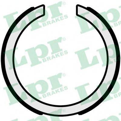 Комплект тормозных колодок, стояночная тормозная система LPR 01095