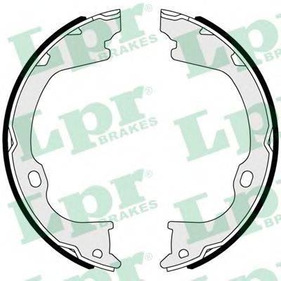 Комплект тормозных колодок, стояночная тормозная система LPR 01102