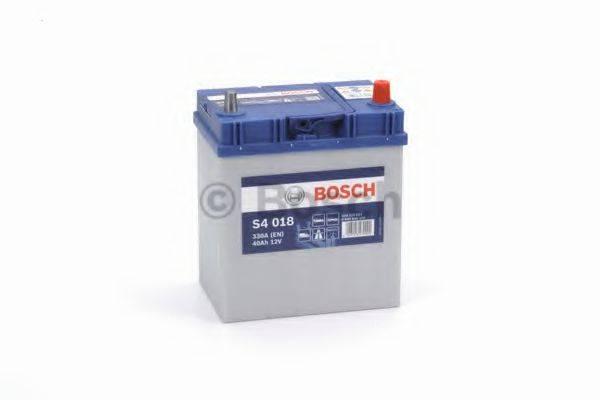 Стартерная аккумуляторная батарея; Стартерная аккумуляторная батарея BOSCH 0 092 S40 180