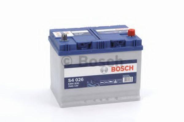 Стартерная аккумуляторная батарея; Стартерная аккумуляторная батарея BOSCH 0 092 S40 260