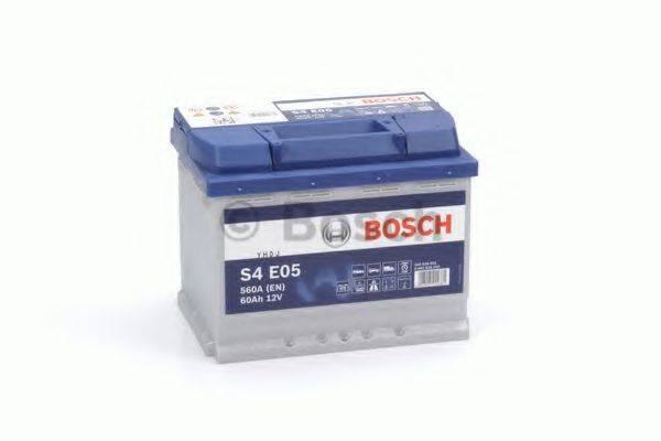 Стартерная аккумуляторная батарея; Стартерная аккумуляторная батарея BOSCH 0 092 S4E 050