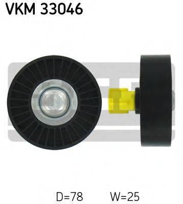 Паразитный / ведущий ролик, поликлиновой ремень SKF VKM 33046